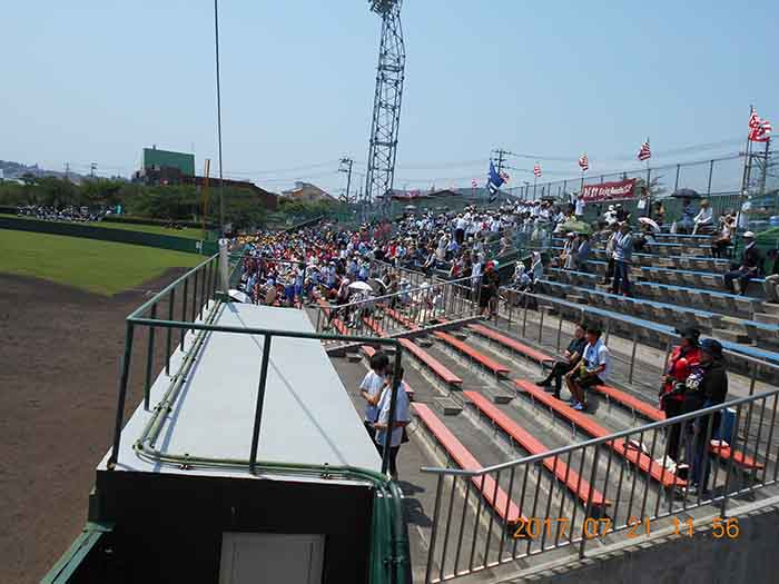2017年07月21日 第99回全国高等学校野球選手権青森大会 対 工大一