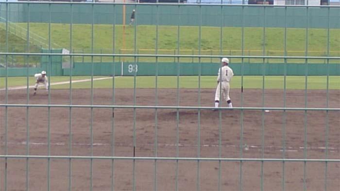 秋季青森県高校野球大会 東北大会予選 対 五所川原工業