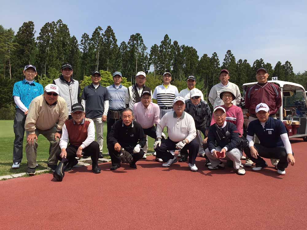 2018年5月12日 杉門会ゴルフコンペ