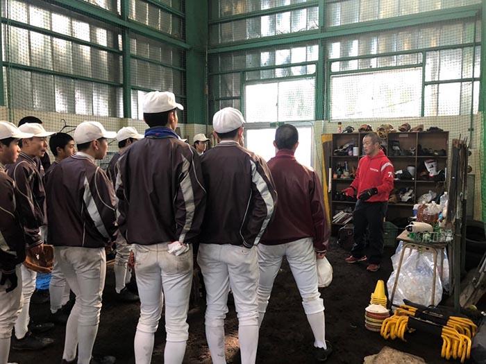 2019年02月03日 トヨタ野球教室 in 八戸高校