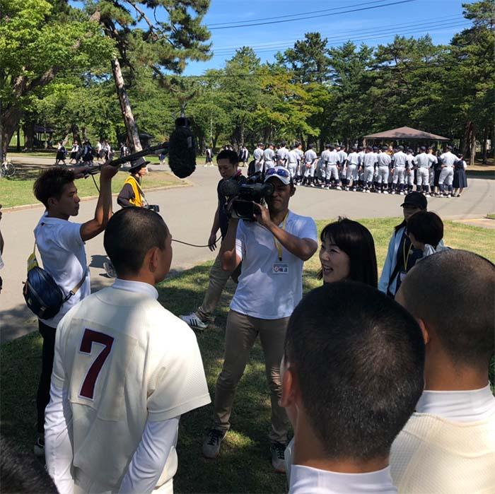 2019年07月09日 第101回全国高等学校野球選手権青森大会 開会式